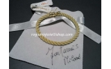 Bracciale Corda Argento dorato